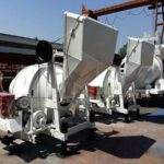 Export Of Four JZC Series Concrete Mixers To Uzbekistan