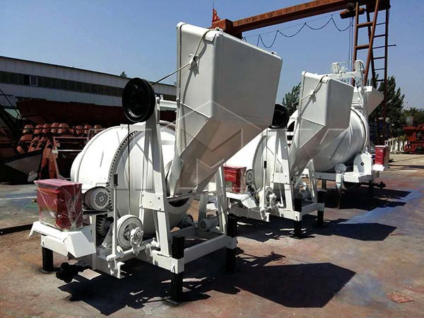 misturador de concreto série jzc