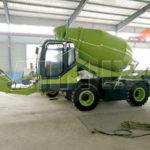 AIMIX Self Loading Concrete Mixer Was Sent To Zambia