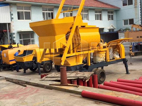 HBTS40-12-82R10 diesel concrete pump