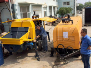 HBTS40-12-82R12 diesel concrete pump