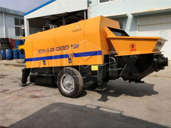 HBTS40-12-82R24 diesel concrete pump