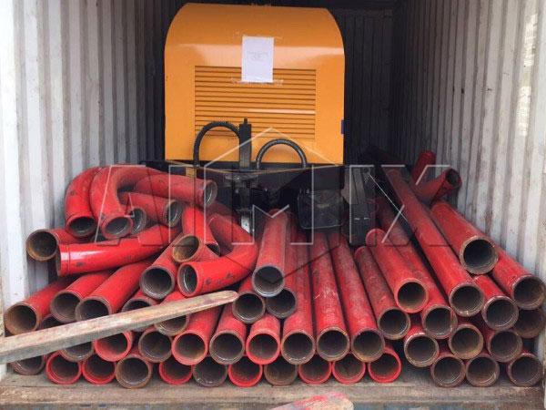 HBTS40-12-82R40 diesel concrete pump
