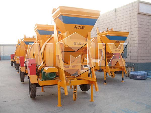 JZC350B mobile concrete mixer