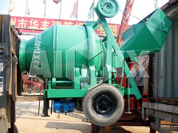 JZC350 concrete mixer