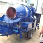 Shipment Of AIMIX Diesel Concrete Mixer Pump To Fiji