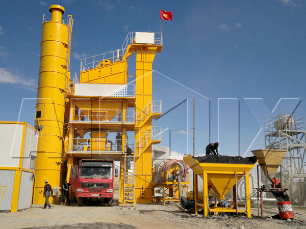 Hot QLBY Series Mix Asphalt Plant Sale