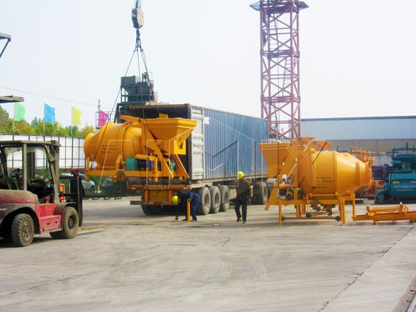 JZC concrete mixer
