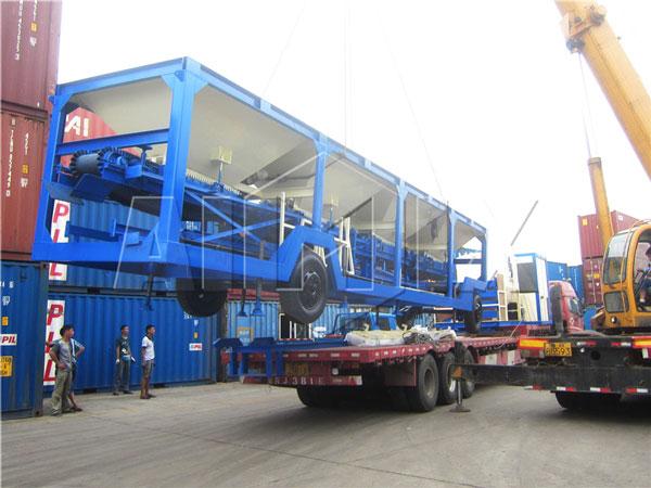 DHB40 portable asphalt plant was sent to Burma.