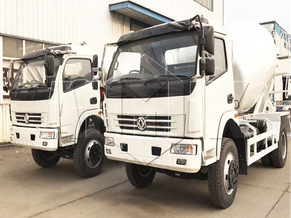 6m³ mixer truck