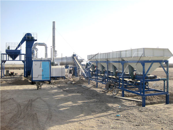 mobile asphalt drum mix plant