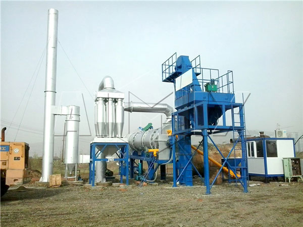 60t asphalt drum mix plant in Ukraine
