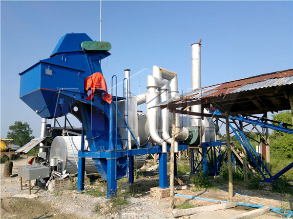 DHB40 mobile type asphalt drum plant in Burma