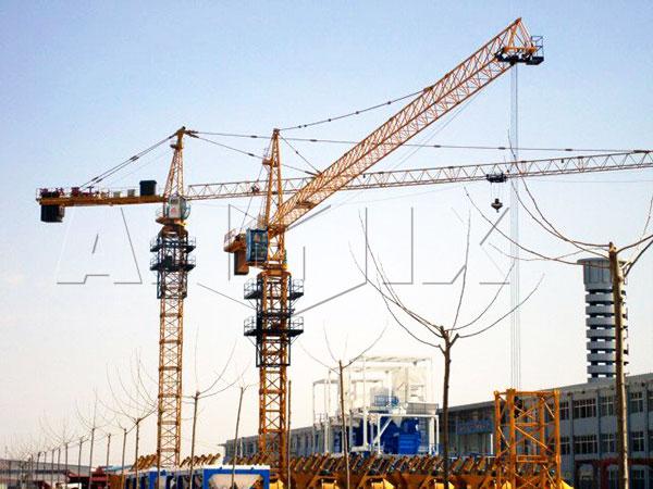 QT6015 tower crane