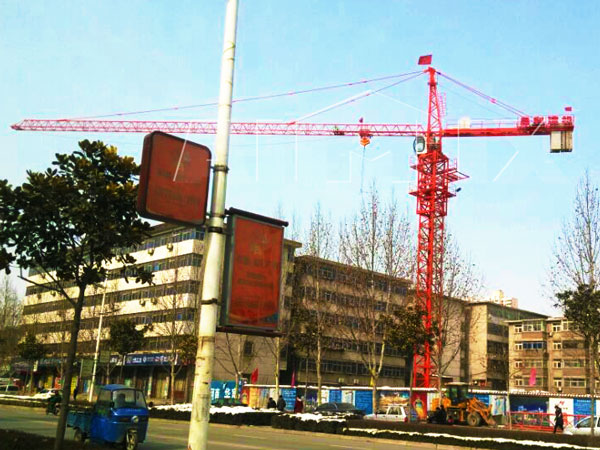 QTZ4810 tower crane