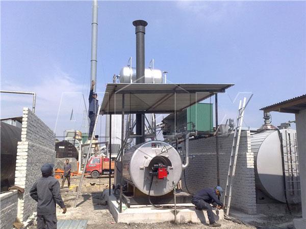 hot asphalt mixing plant