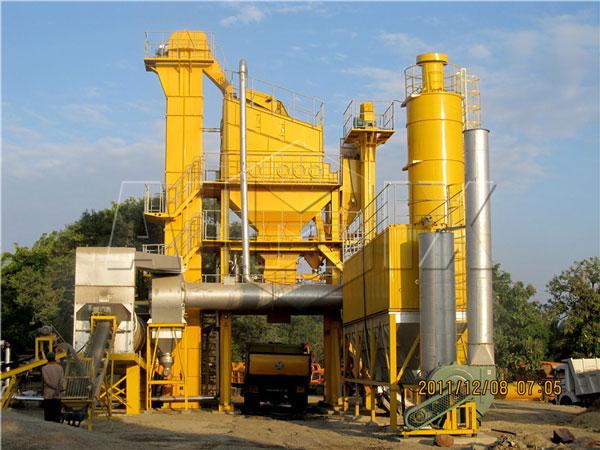 RD90 asphalt plant in Sri Lanka