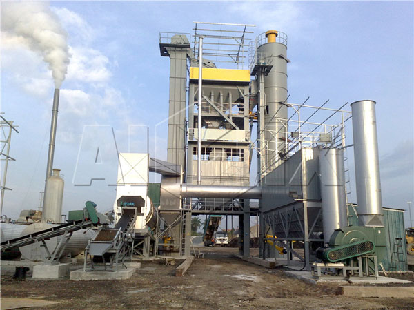 hot mix bitumen plant