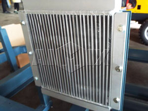 air-cooled radiator