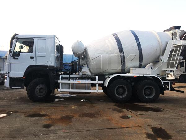 8m³ concrete mixer truck