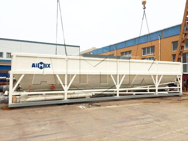 venda silo de cimento horizontal