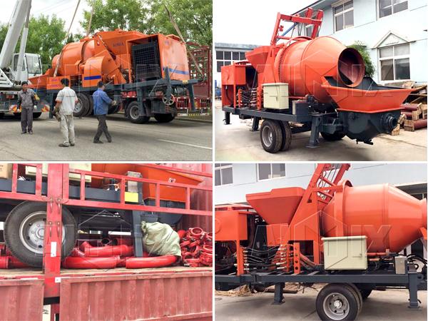 JBS40-10-82R diesel mixer pump was exported to Somalia