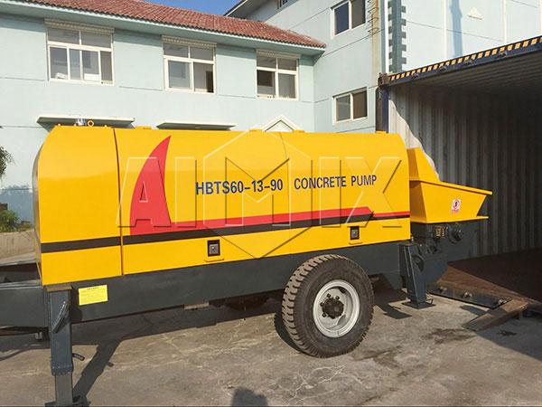 HBTS60 concrete portable pump