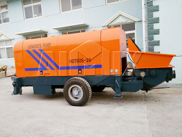 ABT80D portable concrete pump