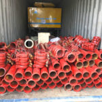 JBS40R Diesel Concrete Mixer Pump Was Ready To Philippine