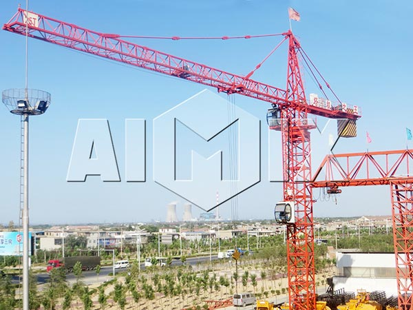 self erecting tower crane