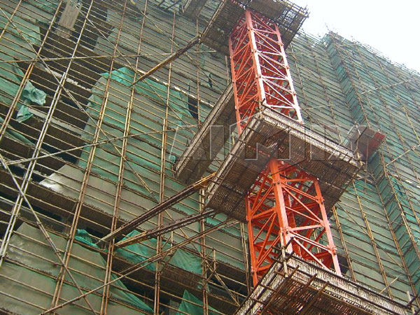 Self Erecting Tower Crane Reliable Simple And Safe