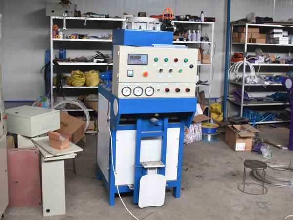 pneumatic valve port packaging machine
