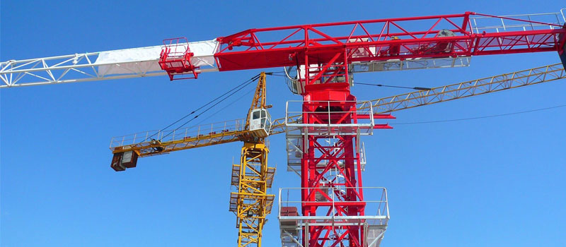 Flat Top Tower Crane - Topless Tower Crane - With No Tower Top