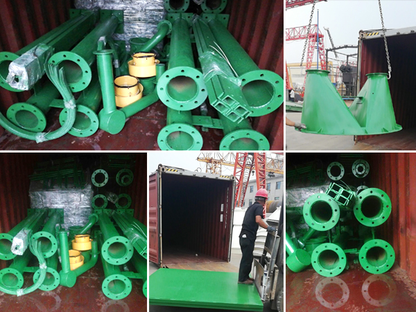 50t bolted cement silo to UK