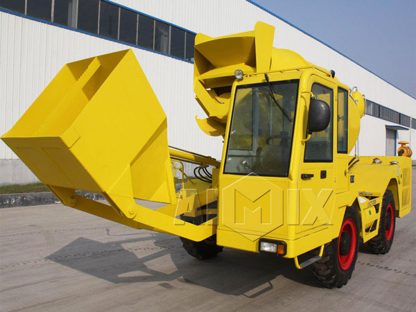 2.5cub self loading mixer