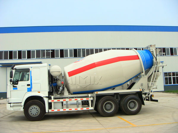 9cub concrete mixer truck