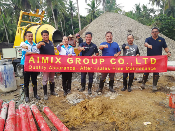 Aimix-group paid a visit to Philippines