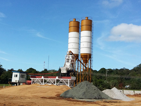 HZS35 stationary batching plant