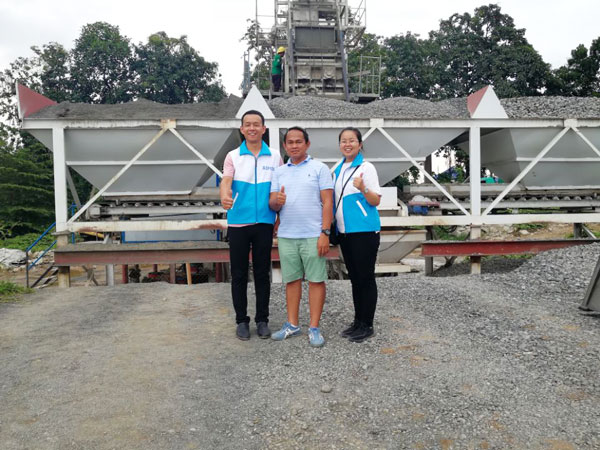 HZS50 stationary batching plant Philippines