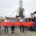Our Salesman Went To Philippines-Aimix Group After-Sales Service