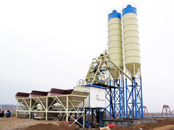 HZS75 batching plant