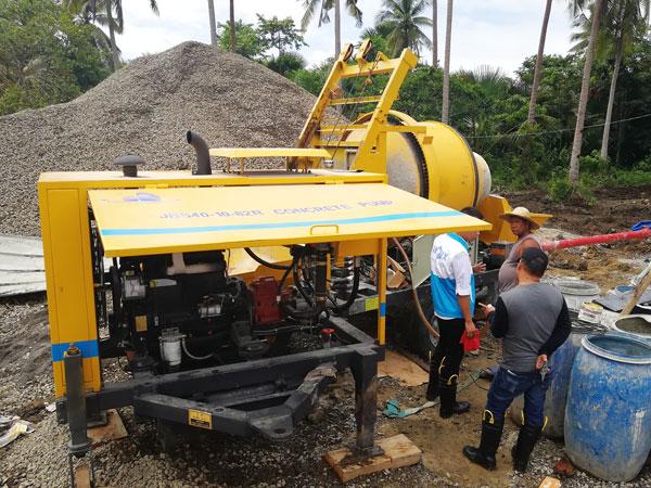 JBS40-10-82R diesel mixer pump
