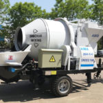 Electric Concrete Mixer And Pump Bangladesh Was Finished Production And Test Run