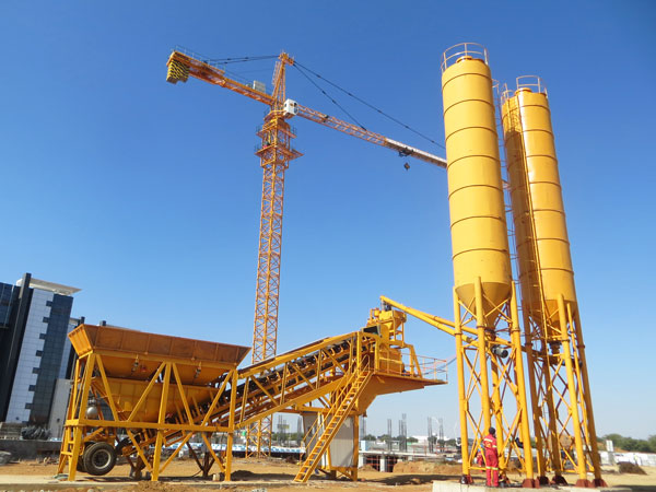 Concrete Batching Plant of Stationary And Mobile Type Sri Lanka