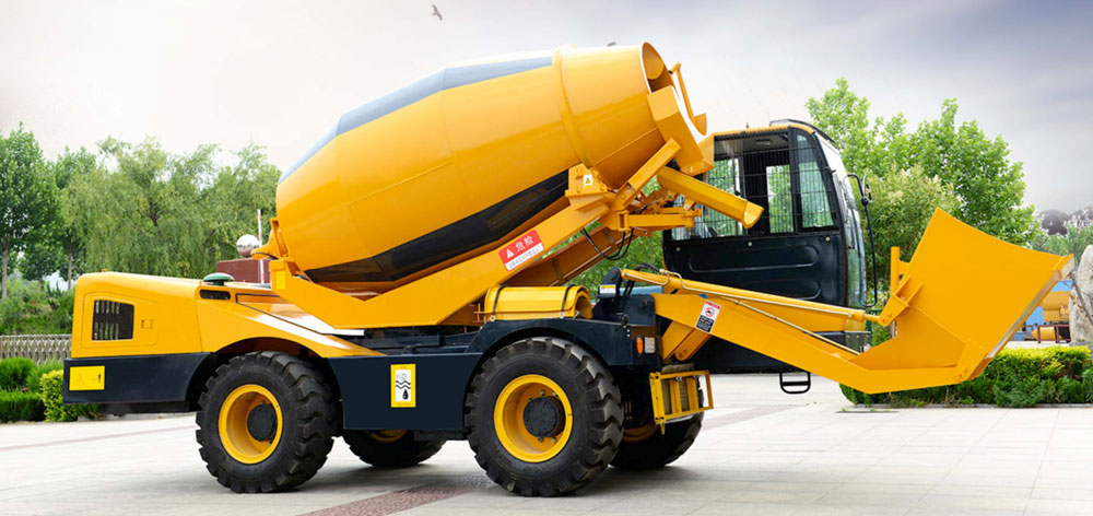 Self Loading Concrete Mixer Truck of Stable Performance
