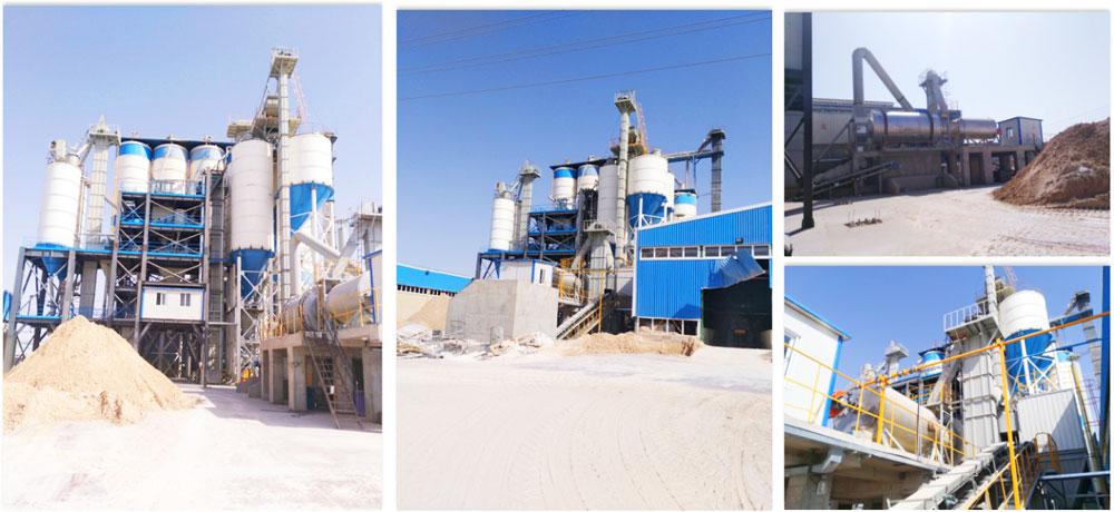 fábrica de argamassa de mistura pronta seca Irã