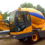 3.5 Cub Self Loading Concrete Mixer Pakistan Was Finished Trial Run