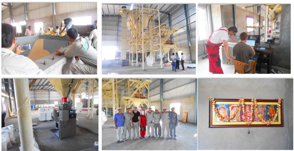 fábrica de gesso pronto para uso no Irã