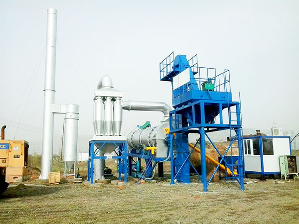 QLB-20 mini asphalt drum mix plant