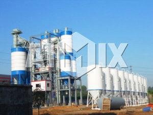 GJ100 dry mortar plant
